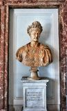 Bust of Trajan in the Capitoline Museum. Royalty Free Stock Photography