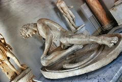 Museum Capitolini. Dying Gaul Royalty Free Stock Image
