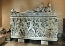 Musei Capitolini. Palazzo dei Conservatori, Piazza del Campidoglio.Palazzo Nuovo. Royalty Free Stock Photos
