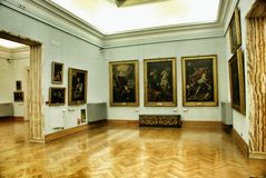 Art Gallery in Museum Capitoline. Stock Photo