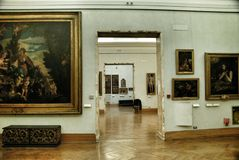 Art Gallery in Museum Capitoline Stock Image