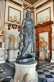 Statue of Asclepius in the Capitoline Museum Royalty Free Stock Image
