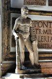 Statue of Hercules in Museum Capitoline Stock Photography
