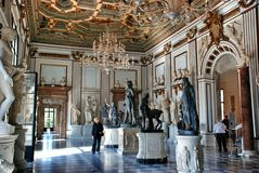 Museum Capitoline Stock Images