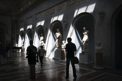 Musei del Vaticano, Roma - Italia Fotografia Stock Libera da Diritti