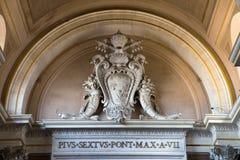 Musei Vaticani zdjęcia royalty free