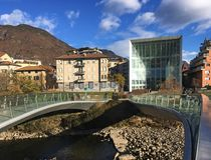 Museion, Bolzano, Italie image stock