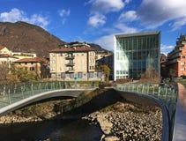 Museion Bolzano, Italien Fotografering för Bildbyråer