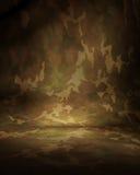 Muselina del camuflaje del desierto Imagen de archivo