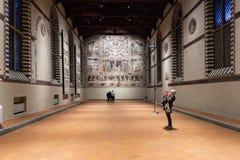 Museo在大教堂二三塔Croce的小山谷歌剧 图库摄影