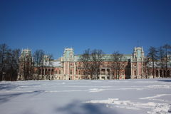 Museo - âTsaritsynoâ de la reserva. Palacio grande. Foto de archivo libre de regalías