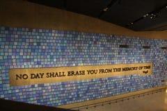 Museo 911 Immagini Stock