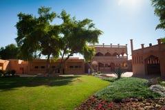 Museo Al Ain UAE del palazzo Fotografie Stock Libere da Diritti