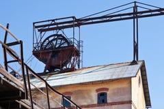 Museo al aire libre, mina de carbón Mayrau, Vinarice, Kladno, repu checo Fotografía de archivo libre de regalías