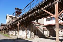 Museo al aire libre, mina de carbón Mayrau, Vinarice, Kladno, repu checo Imagenes de archivo