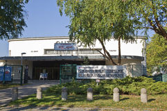 Museo aliado en Berlín imágenes de archivo libres de regalías