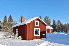 Museo all'aperto Hägnan in Gammelstad Fotografie Stock