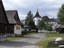 Museo all'aperto, Pribilina, Slovacchia Immagini Stock