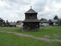 Museo all'aperto, Pribilina, Slovacchia Fotografia Stock