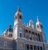 Museo Almudena della cattedrale a Royal Palace a Madrid Immagine Stock