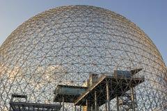 Museo ambientale di biosfera di Montreal immagine stock libera da diritti