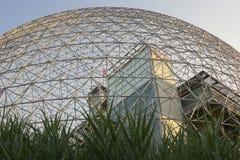 Museo ambientale di biosfera a Montreal immagini stock libere da diritti