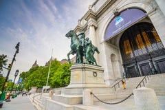 Museo americano de la historia natural Foto de archivo