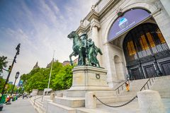Museo americano di storia naturale Fotografia Stock