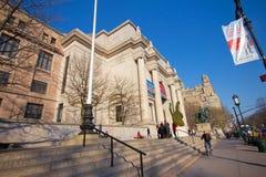 Museo americano di storia naturale NYC Immagini Stock
