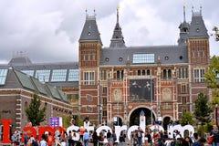 Museo Amsterdam di Rijks Immagini Stock Libere da Diritti