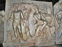 Museo archeologico italiano in Heropolis Fotografia Stock