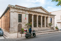 The Museo Archeologico Nazionale. In Chiusi Stock Images