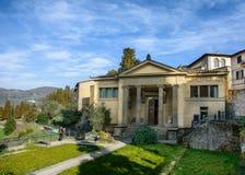 Museo archeologico nella città di Fiesole tuscany L'Italia immagini stock