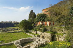 Museo arqueológico de agradable-Cimiez Fotos de archivo
