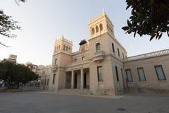 Museo arqueológico de la ciudad de Alicante Imagenes de archivo