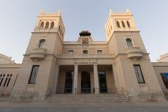 Museo arqueológico de la ciudad de Alicante Foto de archivo libre de regalías