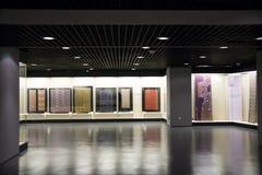 Museo asiatico di cinese, di Pechino, delle donne e dei bambini, ¼ dell'interno Œ del hallï di mostra Fotografia Stock Libera da Diritti