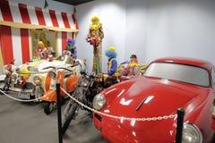 Museo automatico di Miami alla raccolta di Dezer delle automobili e degli oggetti da collezione relativi Immagine Stock Libera da Diritti