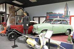 Museo automatico di Miami alla raccolta di Dezer delle automobili e degli oggetti da collezione relativi Fotografia Stock Libera da Diritti