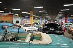 Museo automatico di Miami alla raccolta di Dezer delle automobili e degli oggetti da collezione relativi Immagini Stock Libere da Diritti