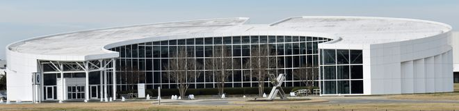 Museo automobilistico di Zentrum a fabbricazione di BMW in Sc di Greer immagine stock