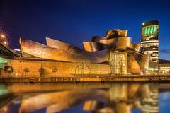 Museo Bilbao de Guggenheim Fotografía de archivo libre de regalías