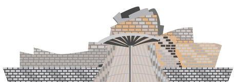 Museo Bilbao di Guggenheim Fotografia Stock Libera da Diritti