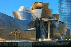 Museo Bilbao, Spagna di Guggenheim Fotografie Stock