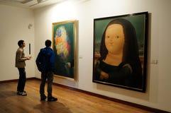 Museo Botero - Μπογκοτά Στοκ Φωτογραφία