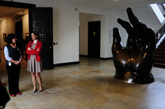 Museo Botero - Богота стоковые фото