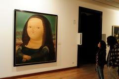 Museo Botero - Богота стоковая фотография