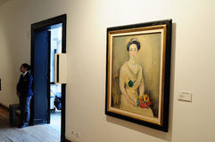 Museo Botero -波哥大 图库摄影