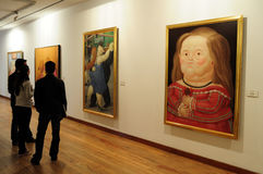 Museo Botero - Bogotá Fotografia de Stock Royalty Free