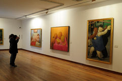 Museo Botero - Bogota Stock Photography